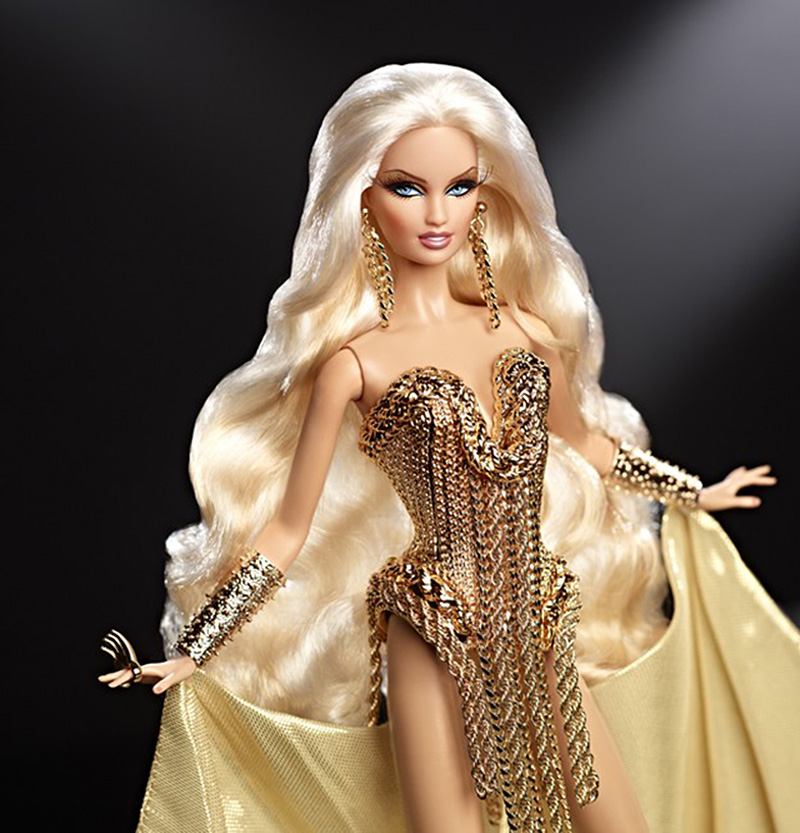 Blonde Mattel Fashion Barbie Doll Watchersweb 1