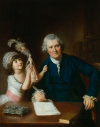 William Hoare, Christopher Anstey avec sa fille, 1775.jpg